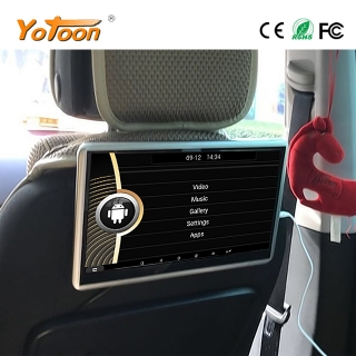 11.6 inch Car Headrest Monitor Android Universal Hanging for back seat Entertainment System