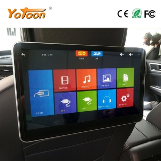 11.6 inch Car Headrest Monitor MP5 Entertainment System